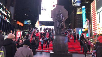 ESCALIER TIME SQUARE
